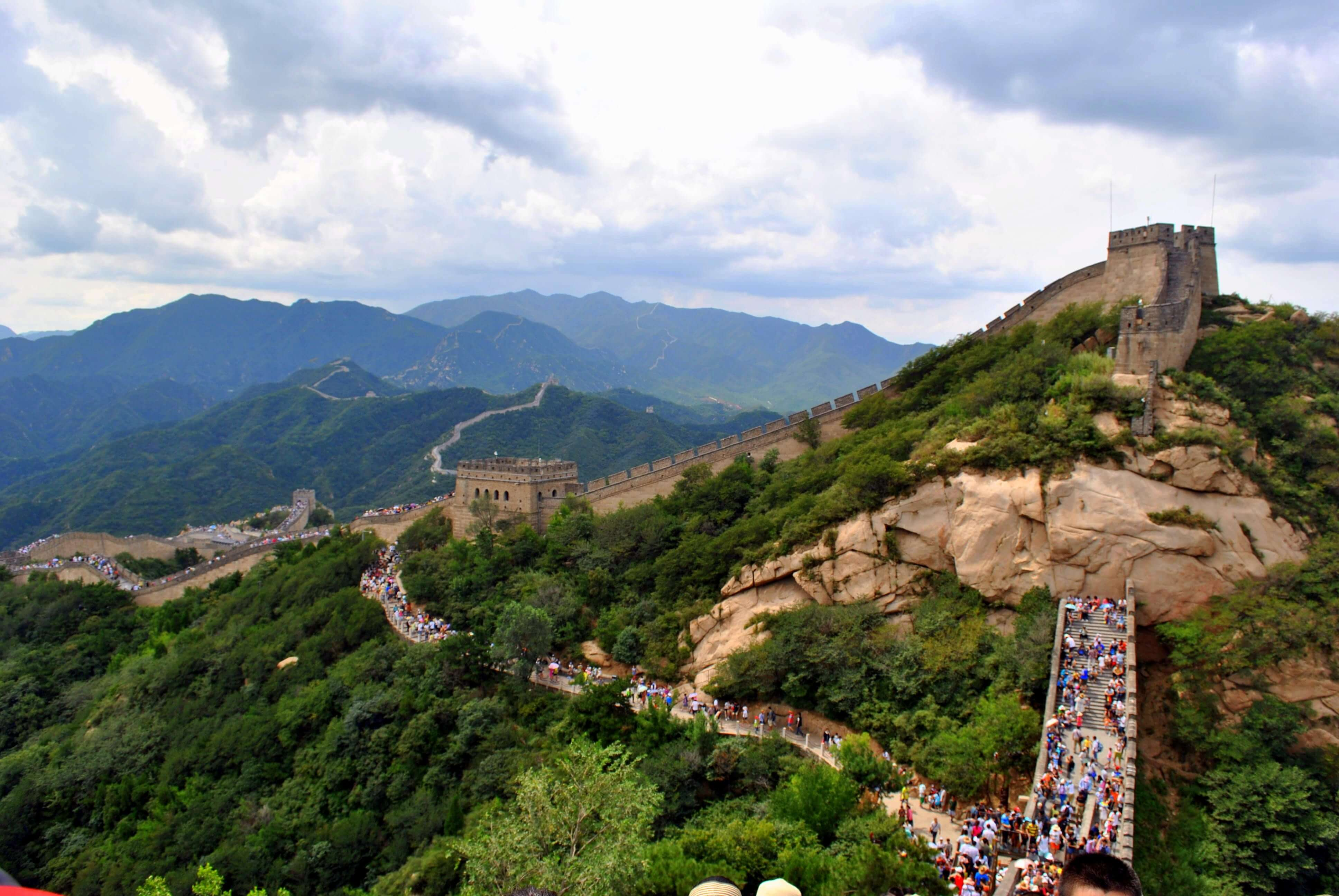 image of great wall of china heritage