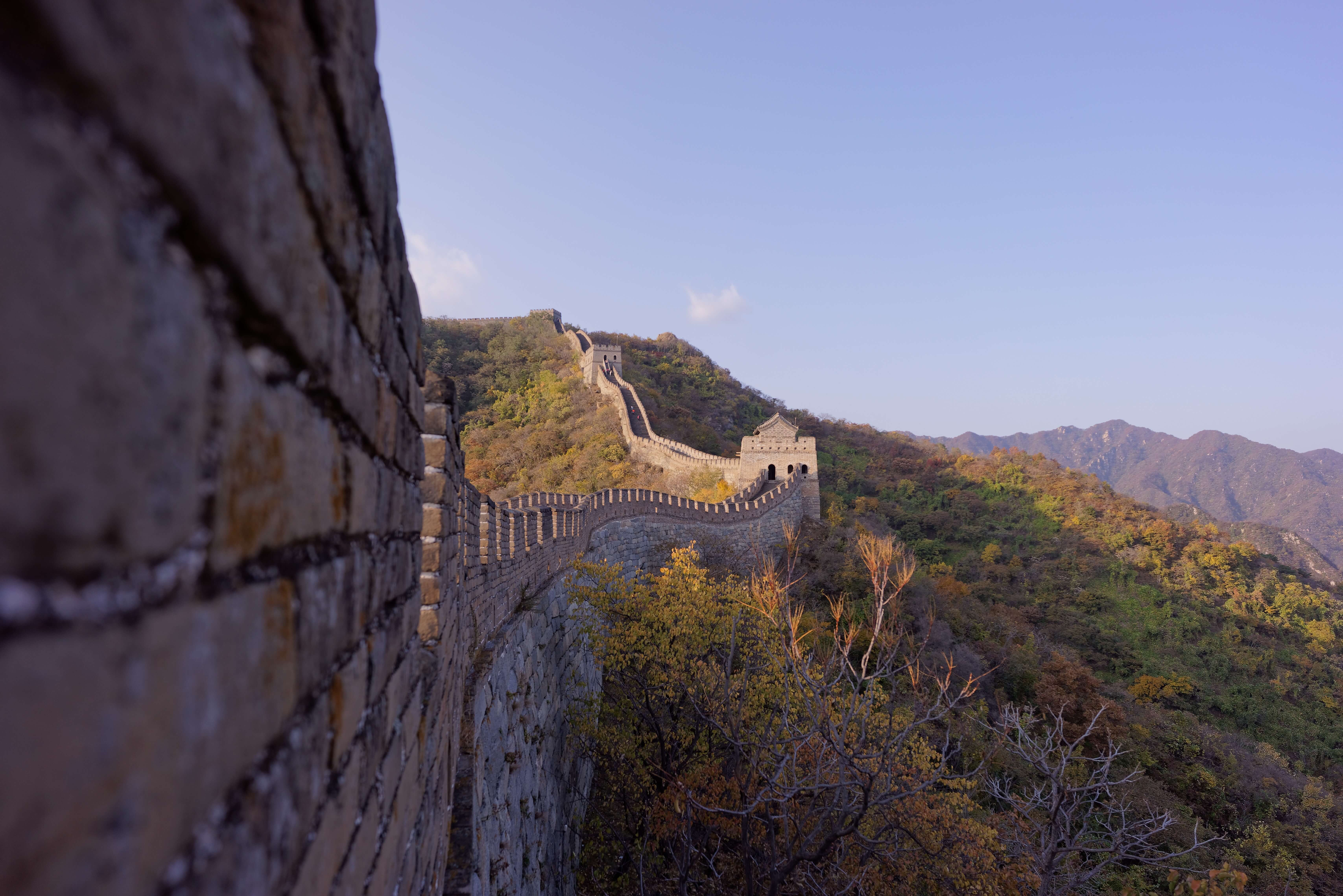 image of great wall of china historical heritage